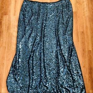 Calvin Klein Sequins Skirt Sz 22W
